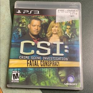 Sony Other - CSI FATAL CONSPIRACY